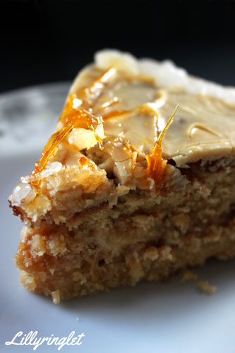 Check out my caramel cake recipe now
