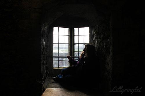 Hiding inside the window