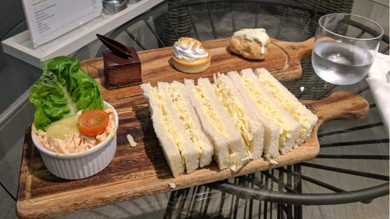 Food at the Spa at the Grand